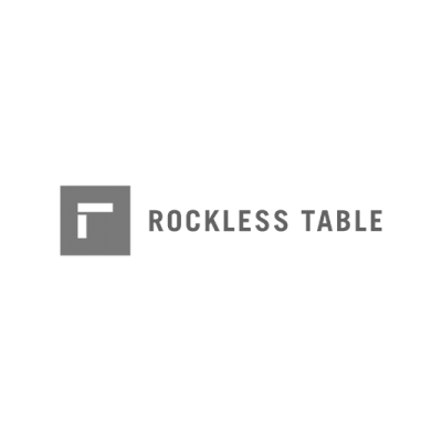 Rockless Table Logo