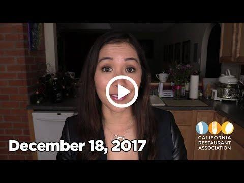 News You Need to Know, December 18, 2017