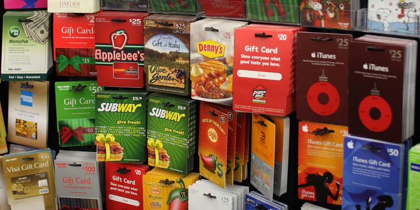Legal Restrictions On Gift Cards And Certificates California