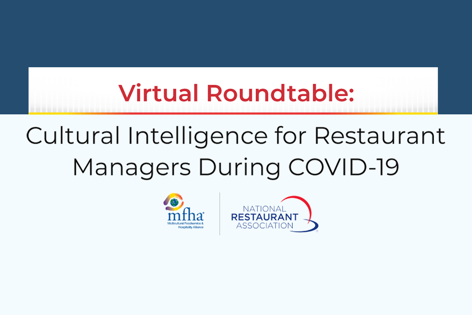 Webinar: Cultural Intelligence for Restaurant Managers During COVID-19
