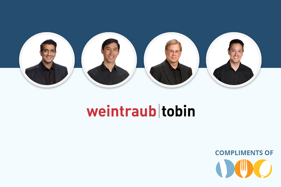 CRA legal partner Weintraub Tobin Webinar