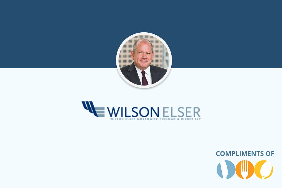 Wilson Elser, Paul White, Partner