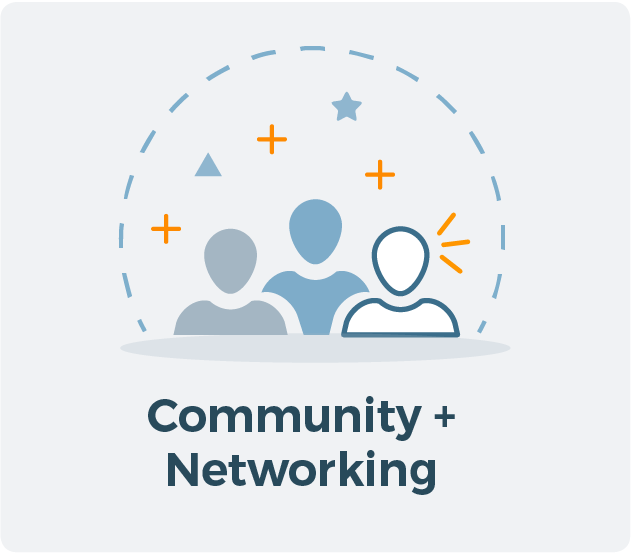 Community and Networking for Allied CRA Membership Graphic