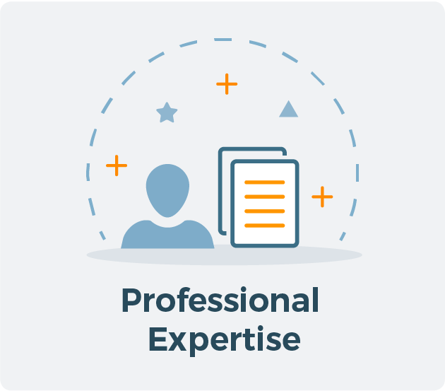 Professional Expertise for Allied CRA Membership Graphic