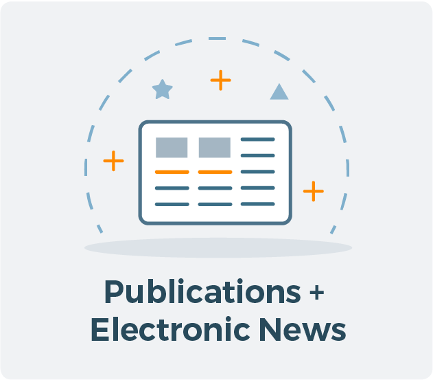 Publications and Electronic News for Allied CRA Membership Graphic