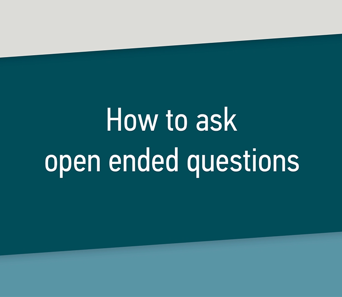 How to ask Open-ended Questions Course