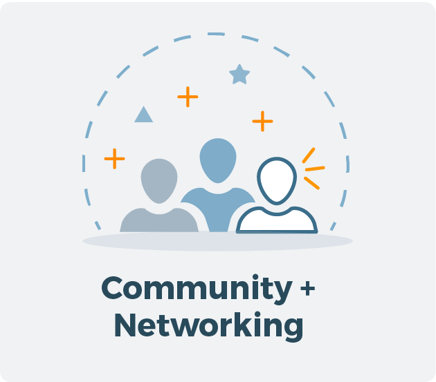 Learn more about Community + Networking