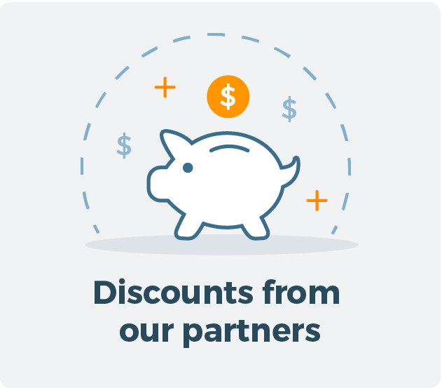 Learn more about Discounts from our partners